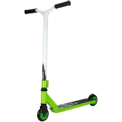 BLACK DRAGON Trottinette adulte freestyle - Blanc / Vert - ABEC 5