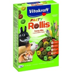 VITAKRAFT Party Rollis - Pour rongeur - 500 g