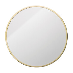 Miroir Bloomingville rond or