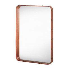Miroir Adnet Rectangulaire S marron