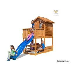 Aire de jeux My House Free time Beach jaune - Fungoo