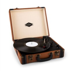 Jerry Lee Platine Vinyle Rétro Lp Usb -Marron