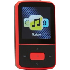 Lecteur MP3 Clip'n Move Rouge Bluetooth