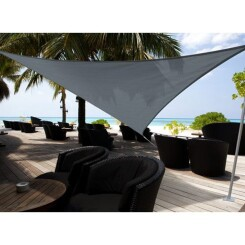 Voile d'ombrage triangulaire Austral 5 x 5 x 5 m