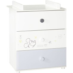 BABY PRICE - MICKEY - commode a langer 3 tiroirs sweetest little things