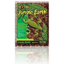 EXO TERRA Substrat naturel Jungle Earth 4,4 L - Pour terrarium