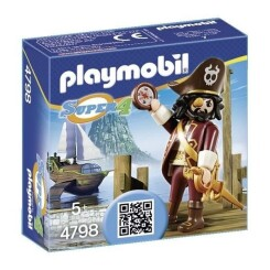 PLAYMOBIL 4798 - Super 4 - Barbe De Requin