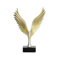 1 PC Abstraction Eagle Modèle Statue De Résine Ornement Décoratif Home Office Store Bureau Décoration   OBJET DECORATIF