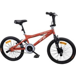 MERCIER Vélo BMX Freestyle 20- 4 Pegs roues rayons - Rouge