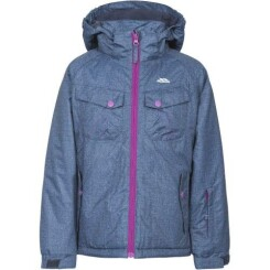 Trespass - Manteau de ski BACKSPIN - Fille (5-6 ans) (Denim foncé) - UTTP4394