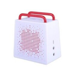 Antec enceinte portable bluetooth ou jack 3.5'' waterproof sp0 blanc/rouge
