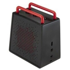 Antec enceinte portable bluetooth ou jack 3.5'' waterproof sp0 noir/rouge