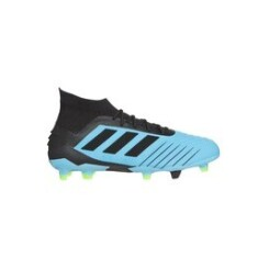 Accessoires Baby foot Alpexe Adidas performance chaussures de football  predator 19.1 fg  - homme  - turquoise/noir/jaune - taille 41.3333333333333