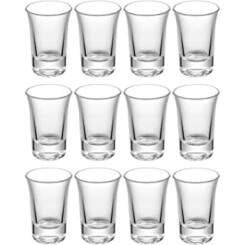 Qc 12 Verre A Shot - Verre Shooter De 4Cl - Lavable En Machine - Parfaits Pour Des Shots De Liqueur, Apero, Vodka