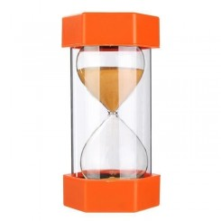 20 Minutes Sablier Sandglass Hourglass Sable Horloge SEN ASD ADHD 16cm Orange co26025