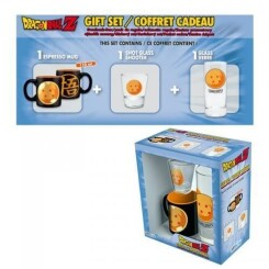 DRAGON BALL - Coffret Cadeau (Verre + Shooter + Mini-Mug)