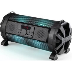 CALIBER HPG419BTL Enceinte portable Bluetooth 2.1 avec éclairage LED multicolore