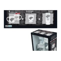 GAME OF THRONES - Coffret Cadeau (Verre + Shooter + Mini-Mug)