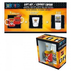ONE PIECE - Coffret Cadeau Skull Luffy (Verre + Shooter + Mini-Mug)
