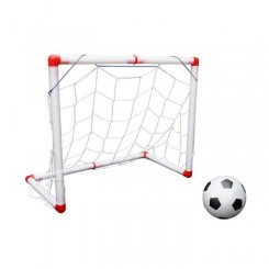 1 ensemble de filet de football robuste et durable pliant intérieur portatif de porte de net de pour enfants  MINI CAGE - MINI BUT