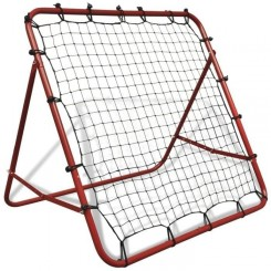 ''Bon3201Magnifique Luxueuse-Rebondisseur de football - Filet de rebond de football MINI-CAGE DE FOOTBALL 100 x 100 cm