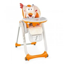 CHICCO Chaise Haute Polly 2 Start - 4 Roues fancy chicken