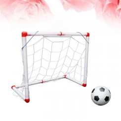 1 ensemble de filet de football robuste portable mini de but de de intérieur durable pour enfants   MINI CAGE - MINI BUT
