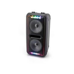 CALIBER HPA502BTL Enceinte portable Bluetooth - Lampes LED multicolores - Batterie intégrée - Option Karaoke Sing-Along